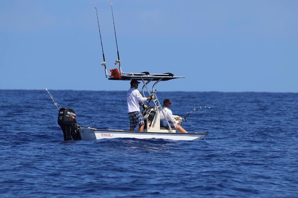 Kona kick off fishing tournament hooked up for Kona hawaii fishing