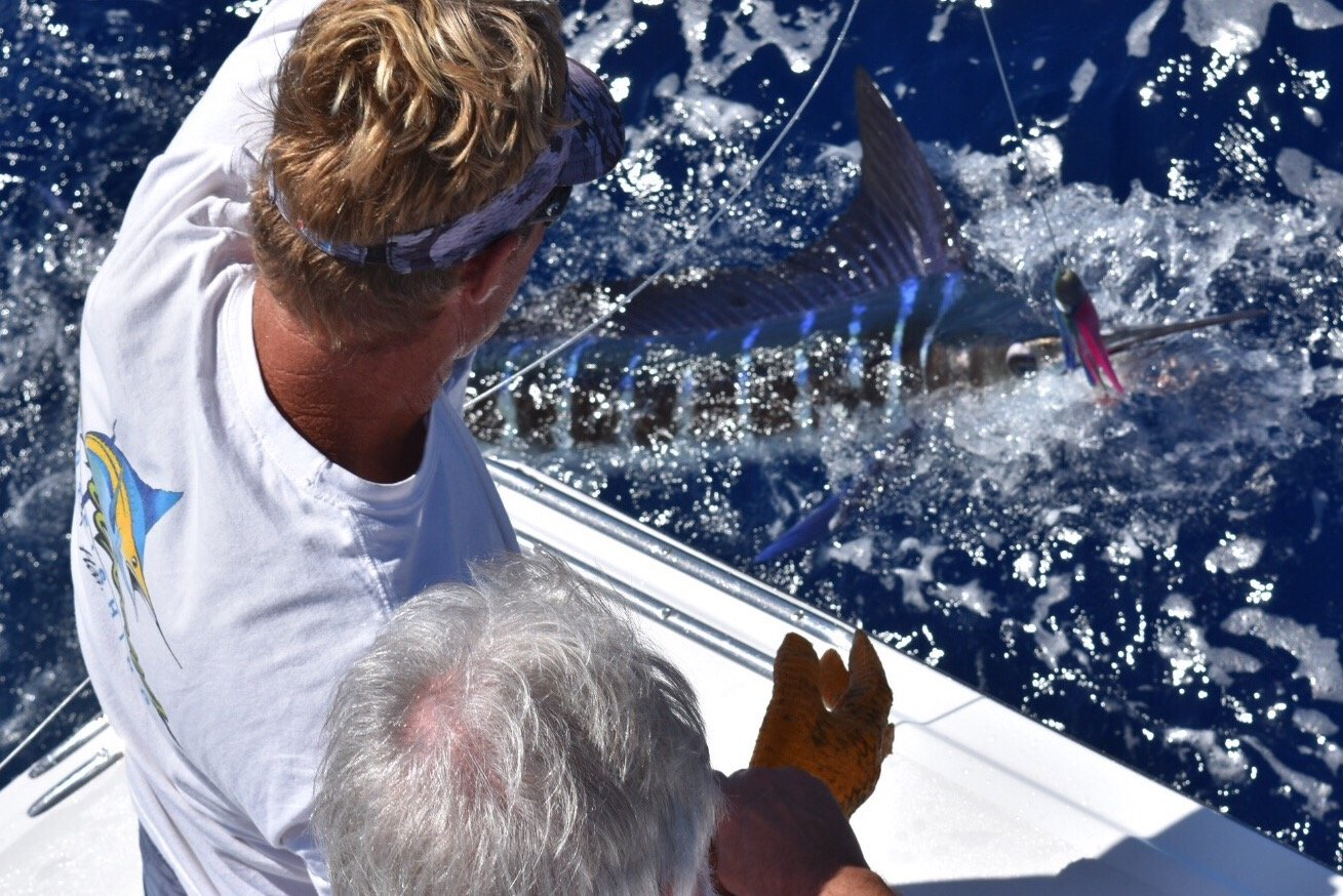 Kona fishing charter Hawaii