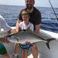 family fishing kona