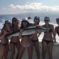 wahine fishing tournament Kona Hawaii