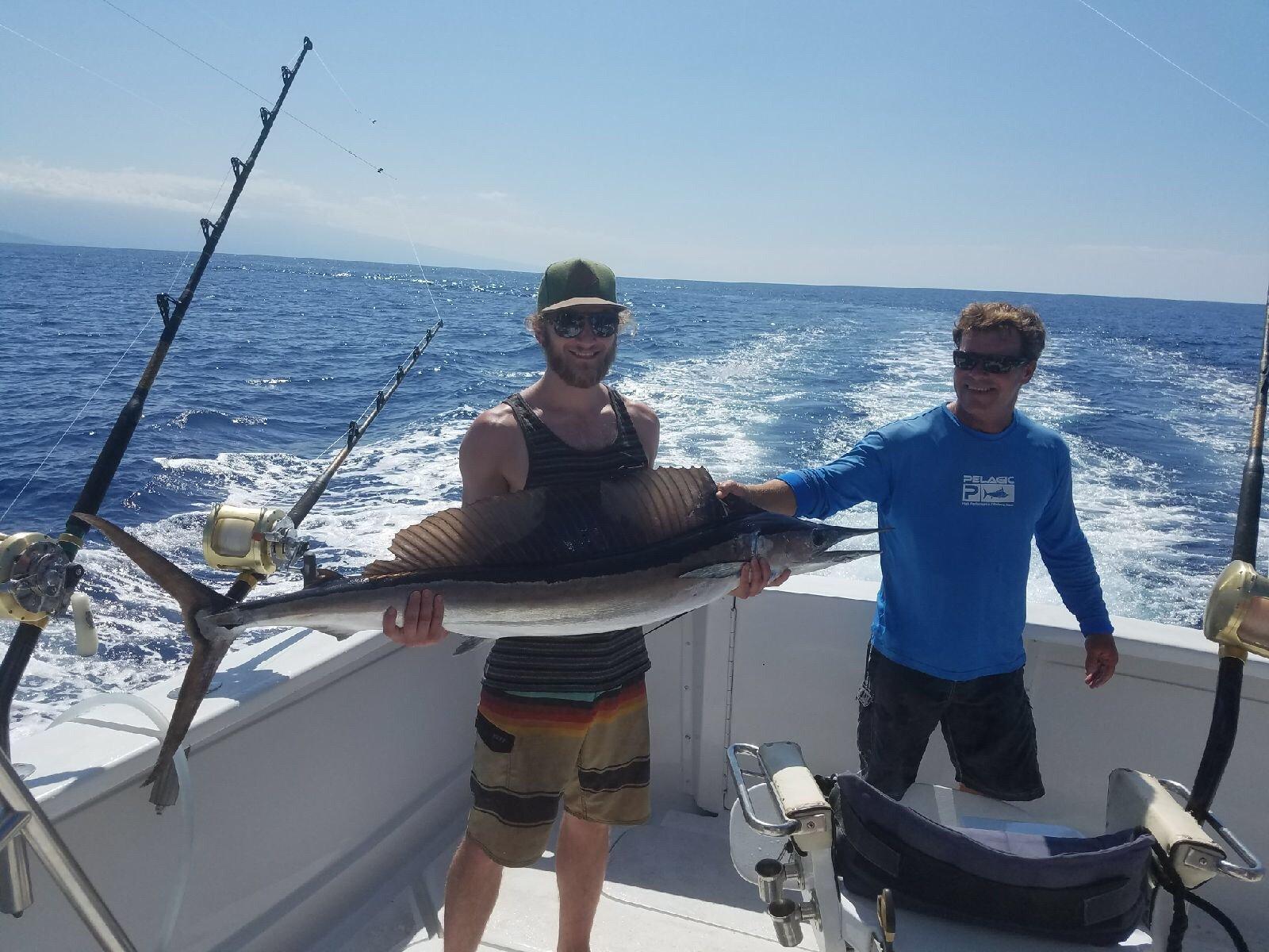 Kona fishing charter