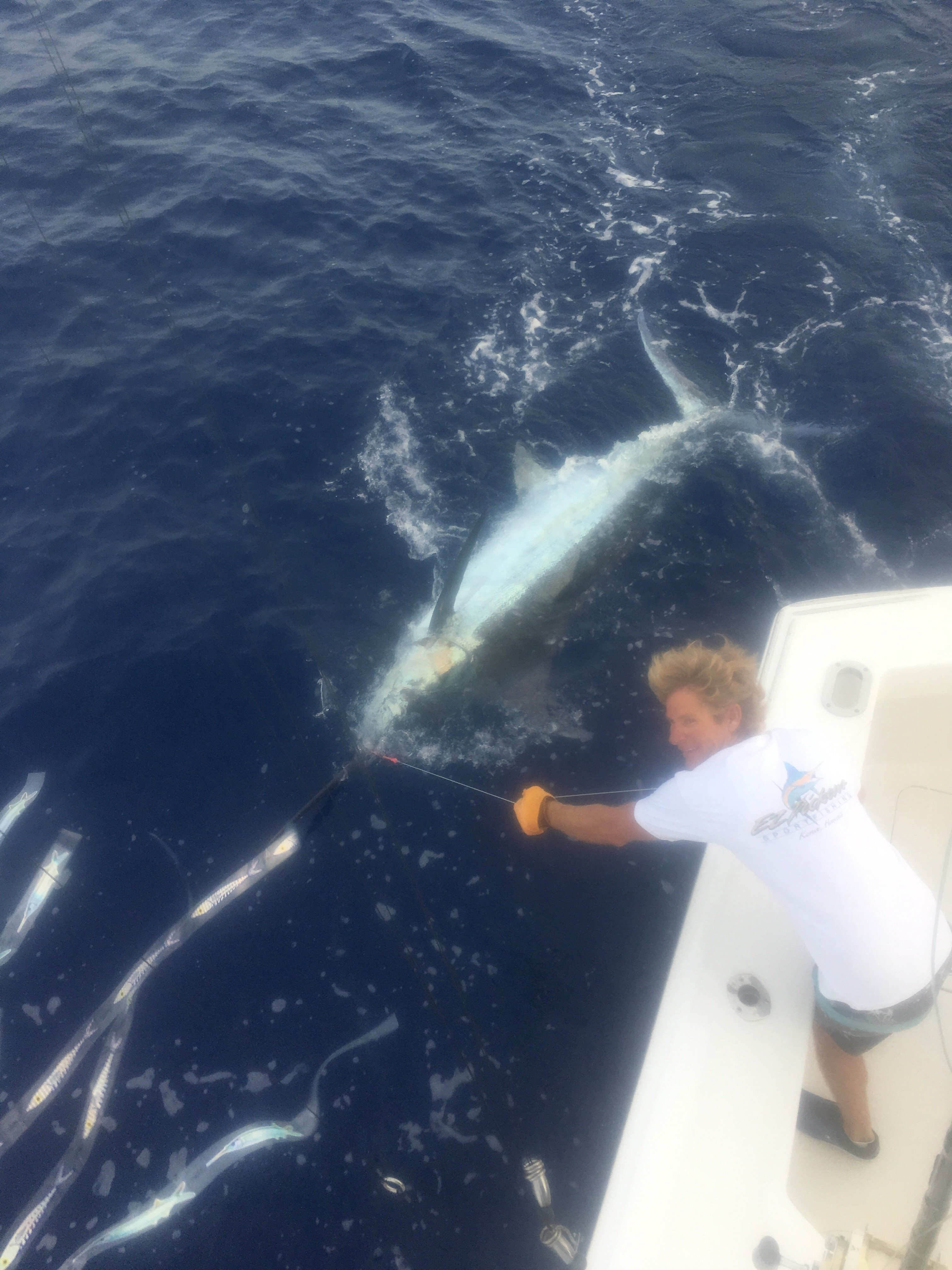 Fishing Kona charters Hawaii