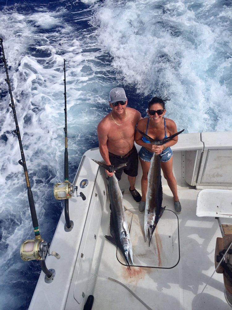 Kona fishing charter boat