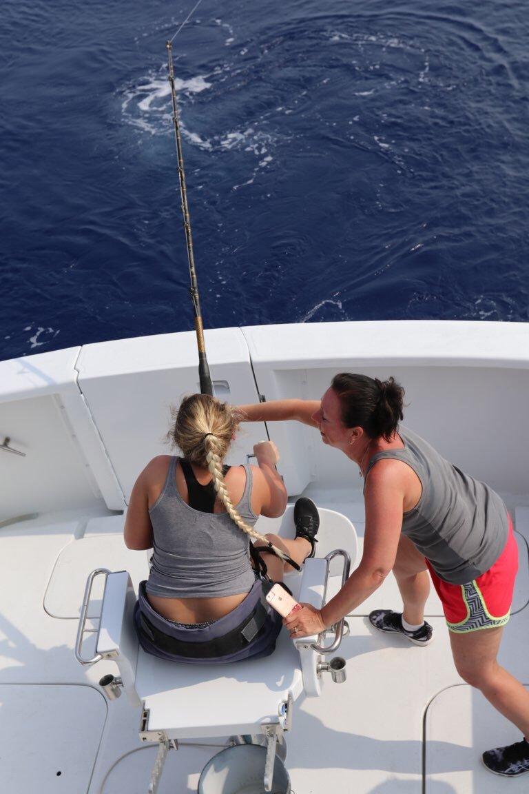Fishing in Kona Hawaii big island