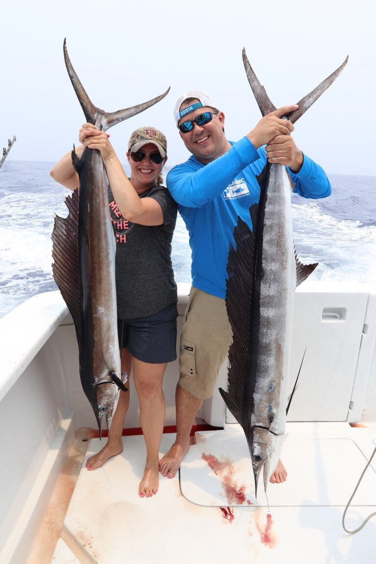Blue marlin fishing Kona