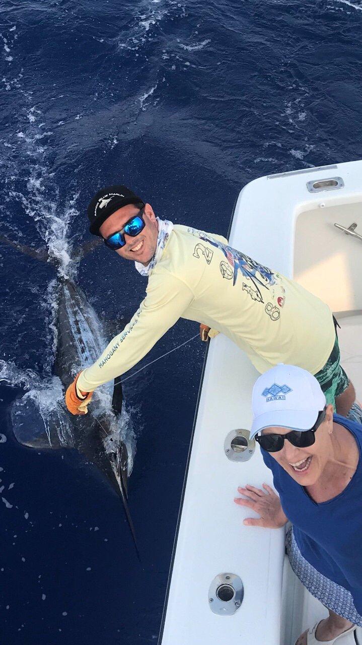 Marlin fishing kona Hawaii