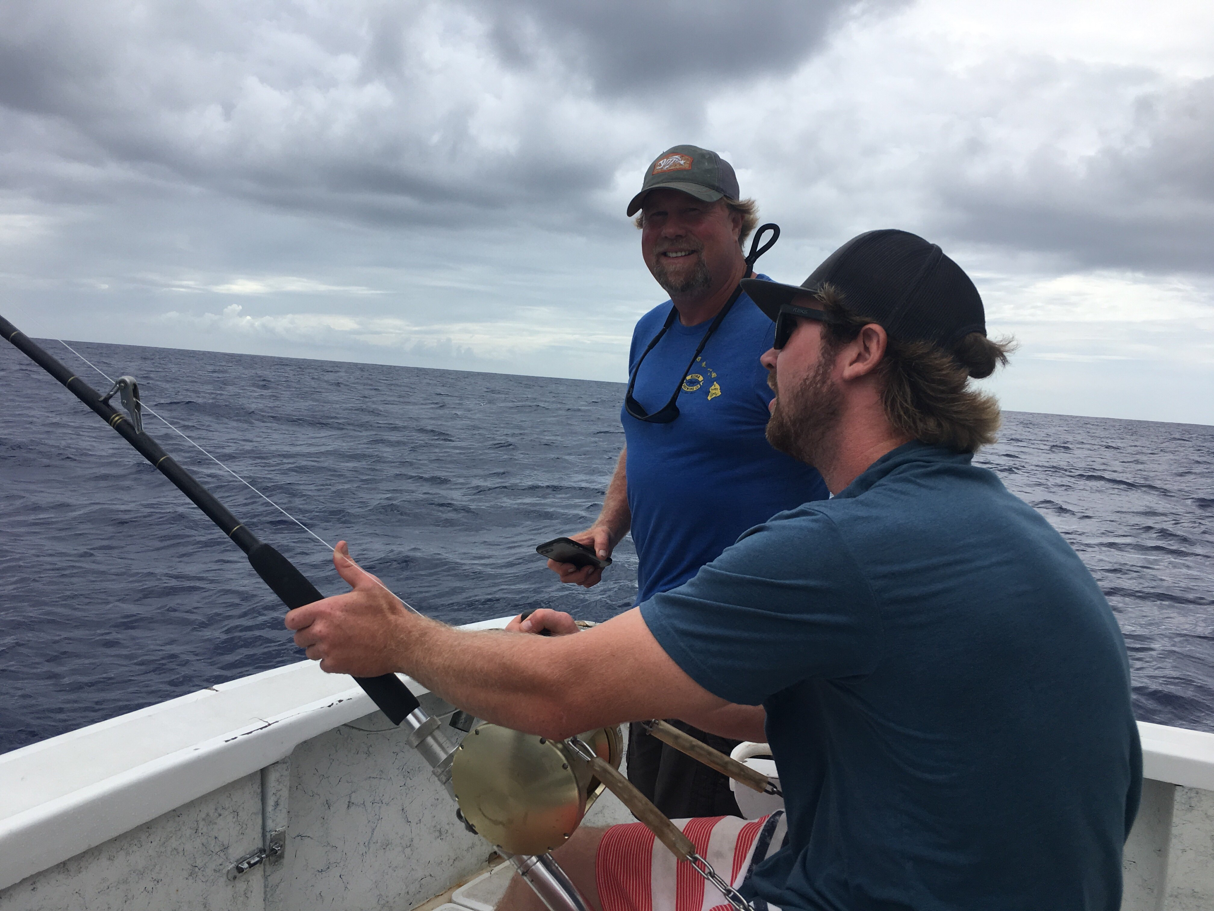 Marlin fishing Kona Hawaii