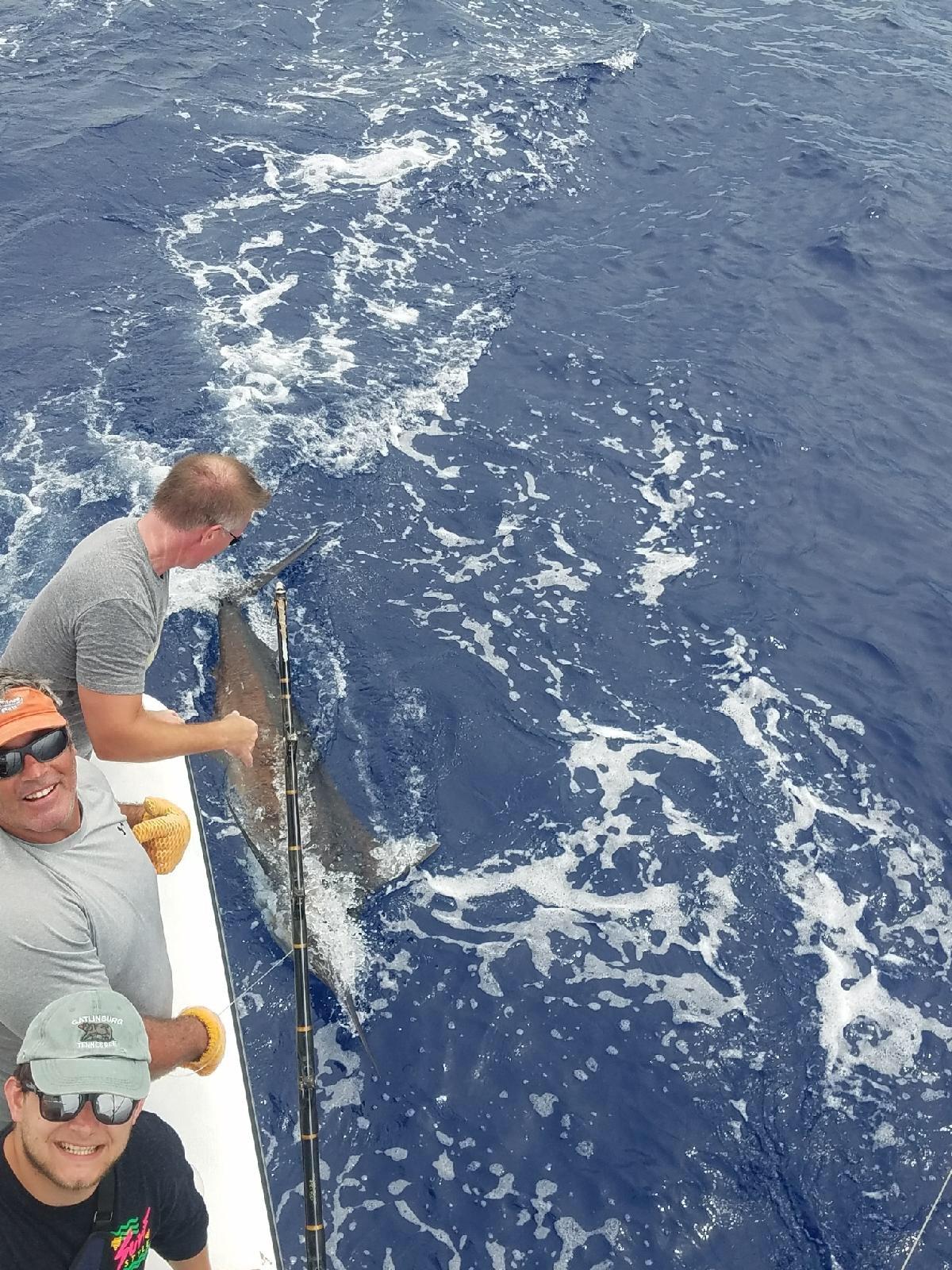 Kona fishing
