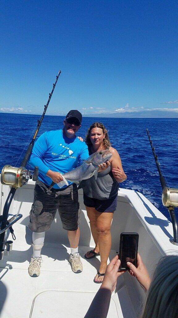 Blue marlin fishing in Kona