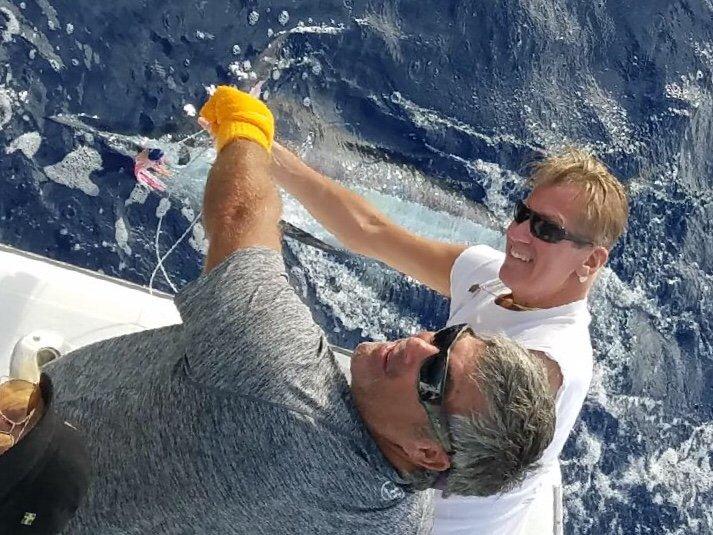 Deep sea charter fishing Kona Hawaii