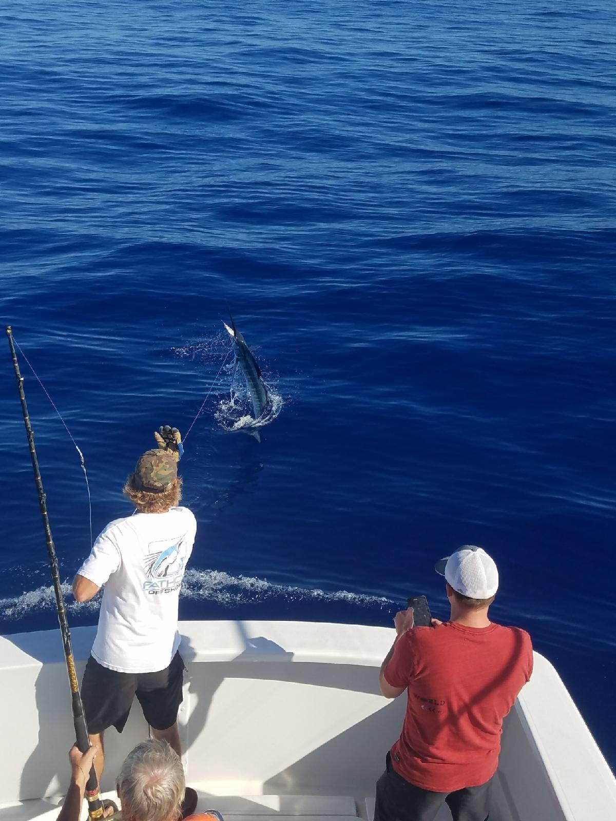 Fishing in Kona