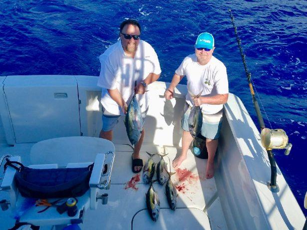 deep sea charter fishing boats in Kona Hawaii