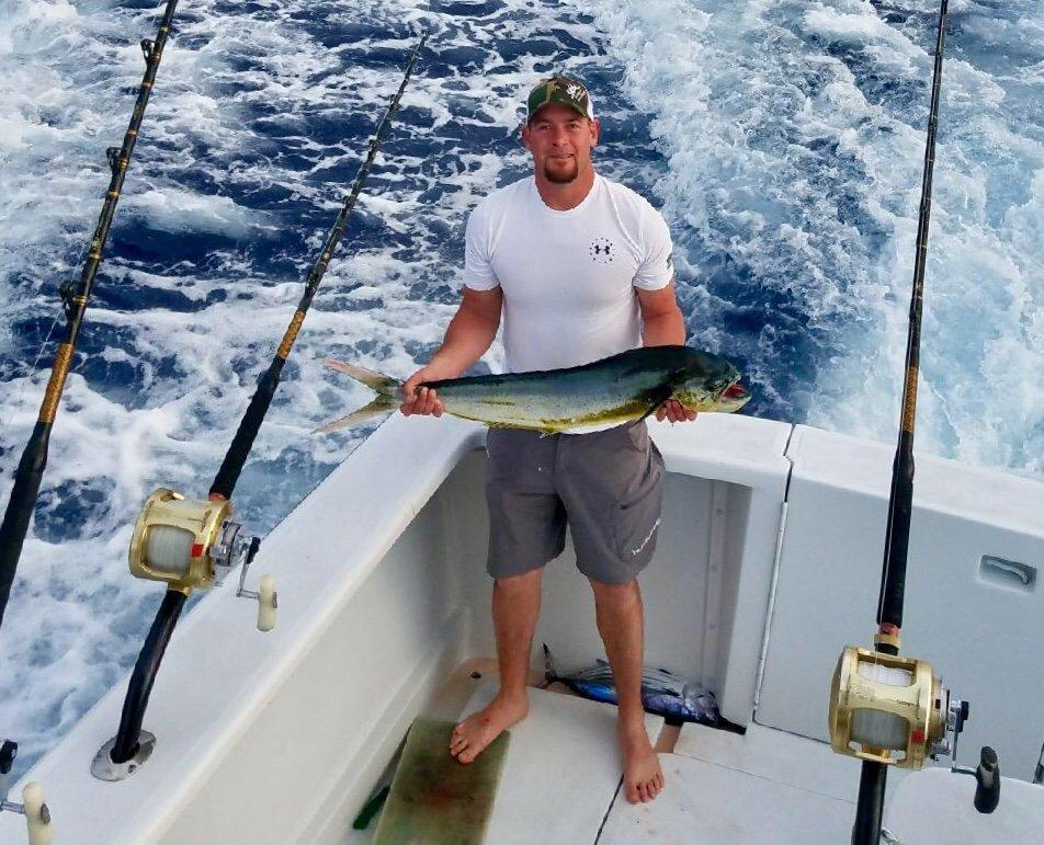 Mahi Mahi fishing Kona