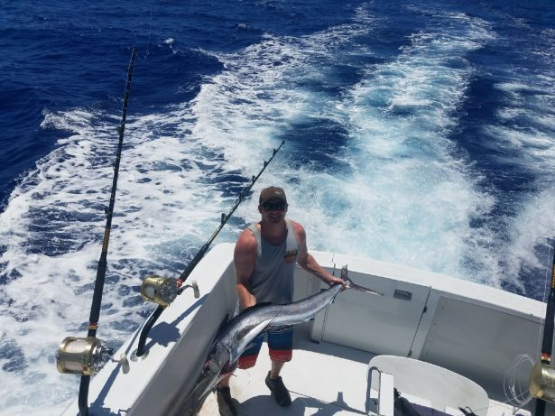 stripe marlin fishing kona