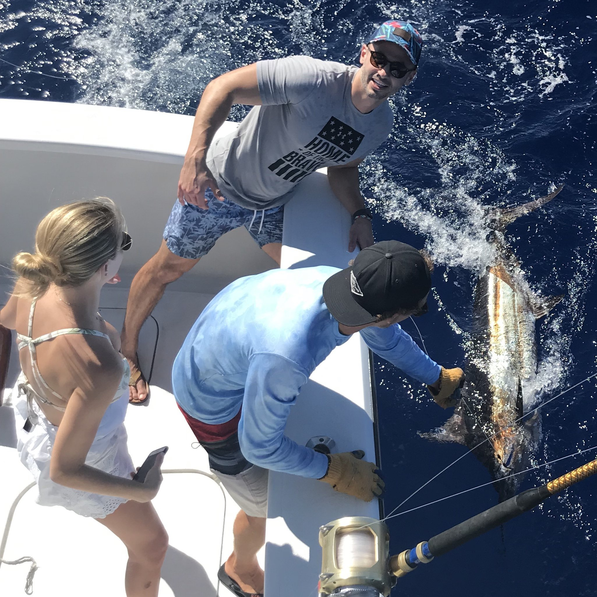 Deep sea fishing big island