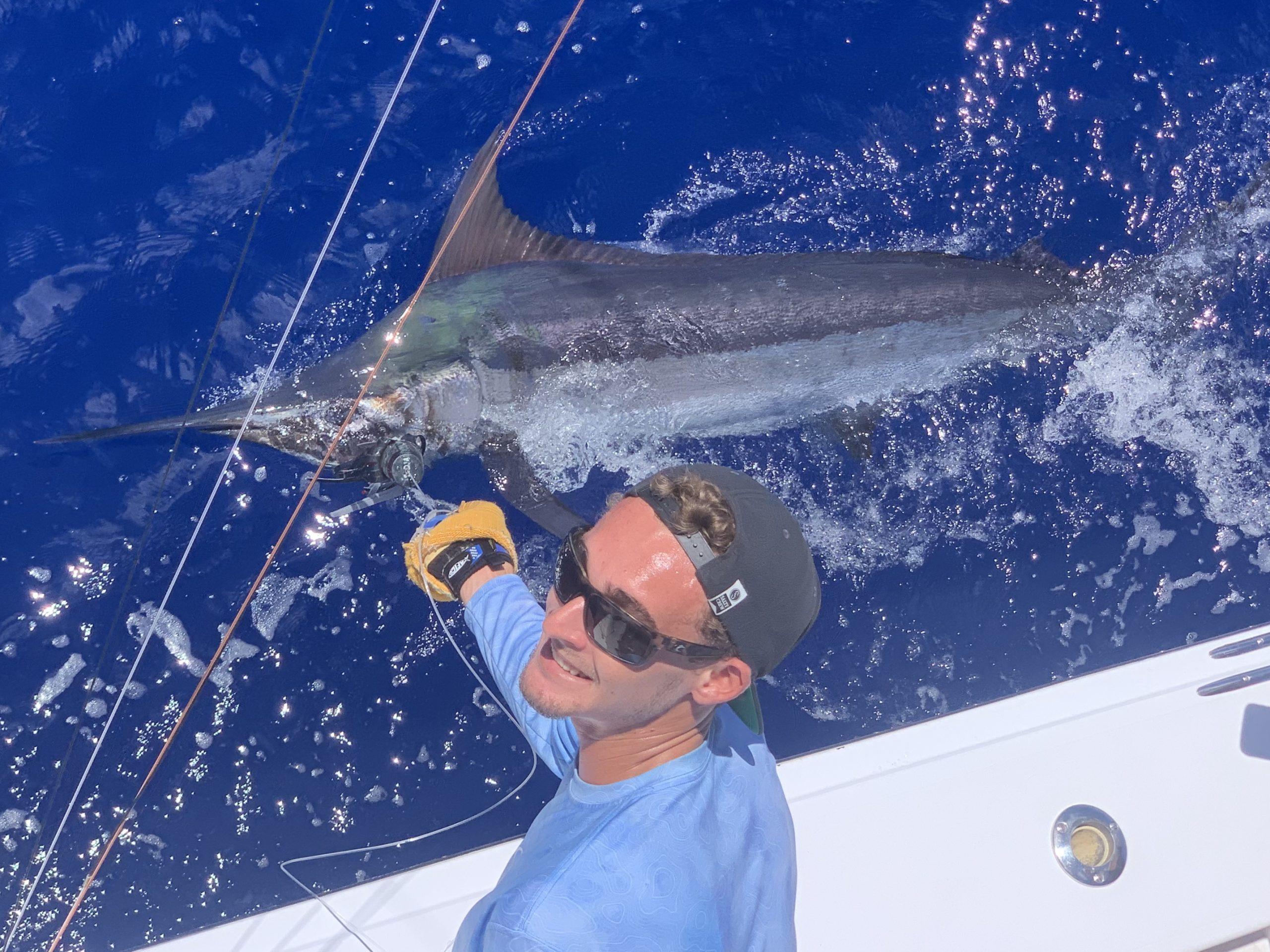 Marlin fishing tournament kona
