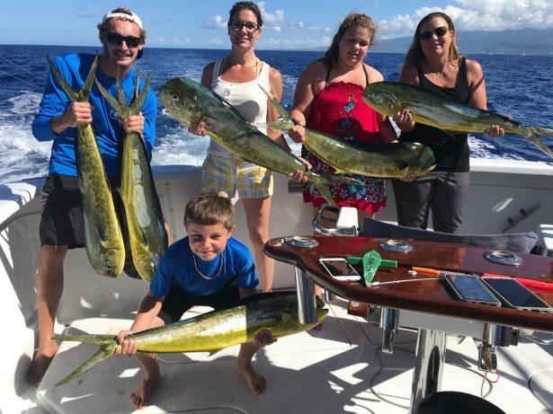 deep sea fishing kona Hawaii